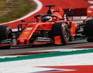Vettel encouraged by P2 after Ferrari gains on Saturday