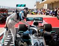 Bottas wins USGP, Hamilton takes sixth title