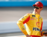 Puzzled Logano falls out of Cup Series title contention
