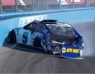Turn 2 crash shatters Elliott's title hopes