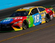 Another Cup Series pole at ISM Raceway for Kyle Busch