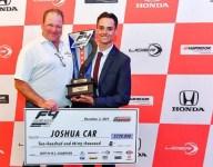 Joshua Car awarded F3 Americas scholarship