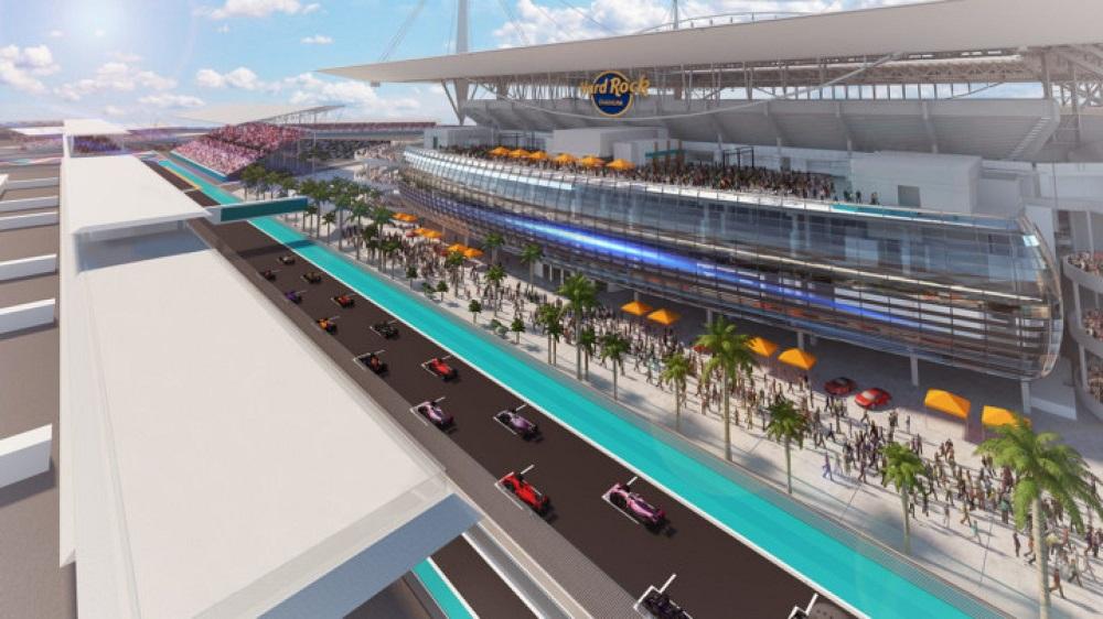 Inaugural Miami GP race date