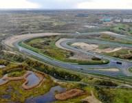 Construction advancing on Zandvoort's new banked corners