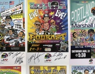 Driver autographed prints benefitting the Wilson Children's Fund