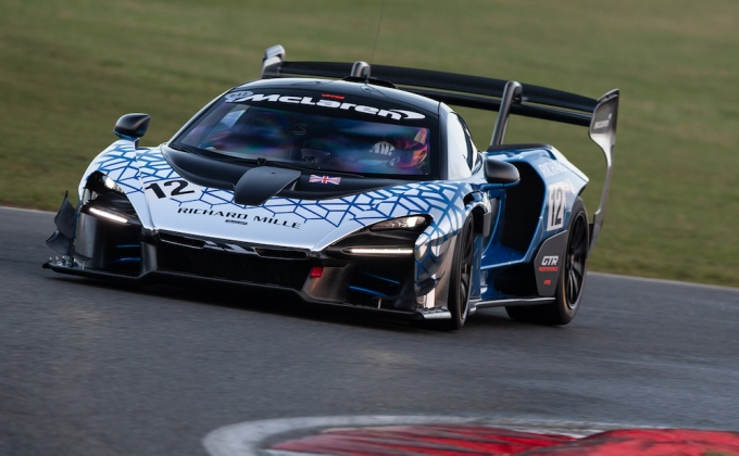 JR Hildebrand takes on the McLaren Senna GTR