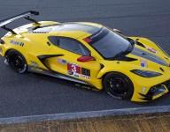 Corvette reveals yellow C8.R