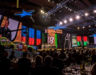 Kyle Busch honored in NASCAR Awards ceremony in Music City