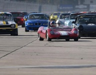Racing underway at HSR Classic Sebring 12 Hour
