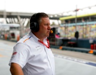 Next step up will be tougher for McLaren - Brown