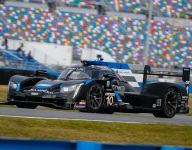 Kobayashi leads final Rolex 24 practice