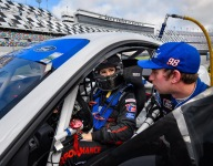 Hailie Deegan enjoying Daytona road course initiation