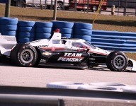 McLaughlin fast in first IndyCar test