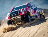 De Villiers' Toyota wins challenging Dakar Rally Stage 2