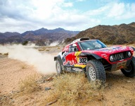 Peterhansel to the fore in Dakar Stage 4