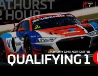 Bathurst qualifying livestream