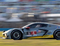 Fassler impressed after first laps in new Corvette