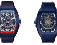 """New timepiece collection celebrates Auberlen's """"Race to 61"""""""