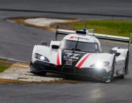 Pla and Mazda qualify first, set unofficial Daytona course record
