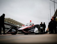 IndyCar still working around the weather at COTA Open Test