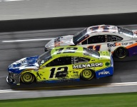 Blaney, LaJoie forced to backup cars for Daytona 500
