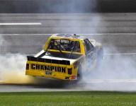 Enfinger wins a nail-biter in Gander Trucks opener at Daytona