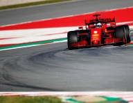 Vettel fastest in Barcelona; trouble for Mercedes