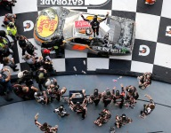 First Xfinity win for Gragson in finish under caution