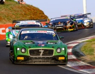 Bentley leads wide-open Bathurst 12 Hour at the halfway mark