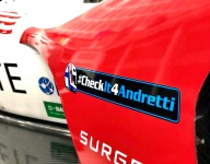 Andretti Autosport carries on #Checkit4Andretti message