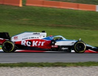 Williams hits the track with FW43 on busy day of debuts