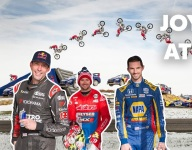 VIDEO: Pastrana, Rossi and Duffy turn Indy into a personal playground
