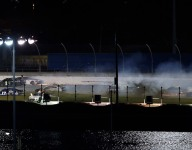 Daytona's Big One strikes with 20 laps to go