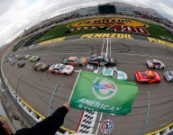 Rain halts Vegas Xfinity race after first stage