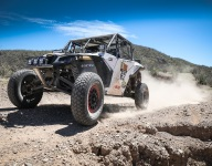 Howes, Pelayo lead after first two days of Sonora Rally