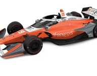 Hinchcliffe reveals Genesys livery