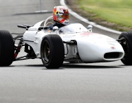 VIDEO: Verstappen, Sato drive Honda's 1965 F1 car