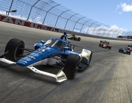 Earnhardt Jr picks off a podium finish in IndyCar iRacing debut