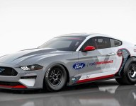 Ford Performance reveals all-electric Mustang dragster