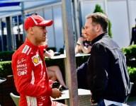 Vettel return to Red Bull 'enormously unlikely' - Horner