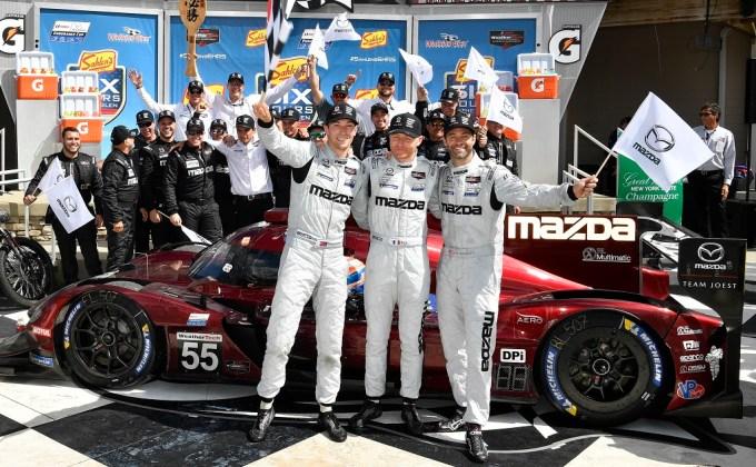 IMSA Mazda principals recount trifecta in new video