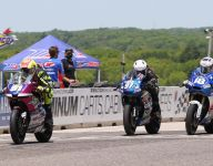 Riders double up in MotoAmerica support classes