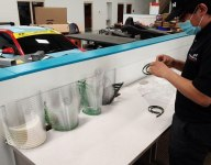 BHA assembling face shields for first responders