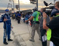 Fox reporters adapting to the challenges of COVID-19 era racing