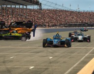 McLaughlin last-second winner of IMS IndyCar iRacing series finale