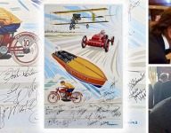 Own a piece of motorsports history to benefit the MSHFA