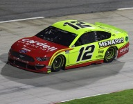 Blaney's charge to the front comes a little too late