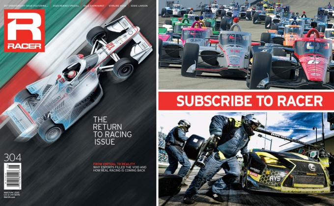 RACER Magazine: The Return to Racing Issue