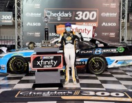 Gragson grabs Bristol Xfinity win after late race bump and run