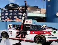 Burton steals Homestead Xfinity win from Cindric, Gragson